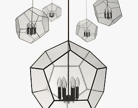 3D Plantation design - Cinco iron pendant