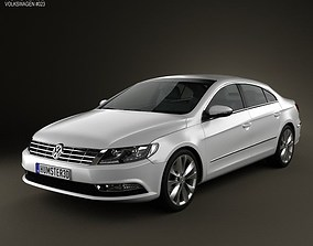 Volkswagen Passat CC 2013 3D
