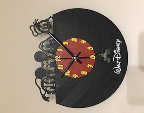 3D print model Disney Wall Clock