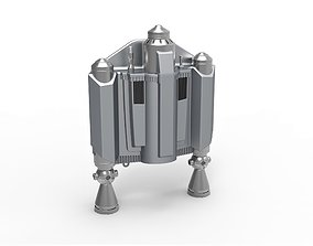 Jetpack from The Mandalorian TV series 3D printable model