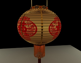 new 3D Chinese Red Lantern