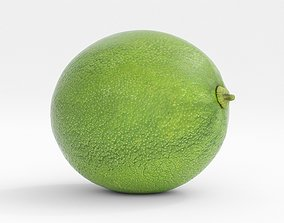 3D model Lime fruit juice