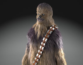 rigged Star Wars Chewbacca for 3dsmax