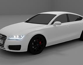 3D model Audi A7 Sportback 2010