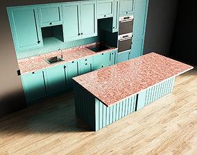 3D model 112-Kitchen4 matte 10