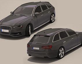3D asset VR / AR ready Audi A4