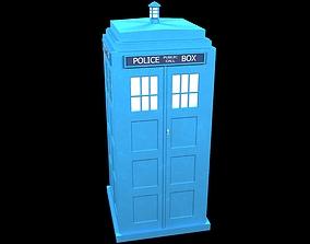 3D model Police box