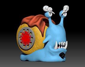 Denden mushi jimbe 3D printable model