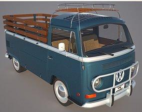 VW T2 Combi - Kombi 1970 3D model