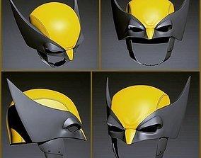 Wolverine Helmet 3D printable model