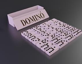 3D model VR / AR ready Domino