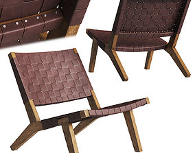 DE LA ESPADA 128 Lounge Chair 3D asset