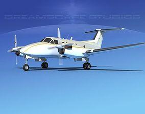 3D model Beechcraft B200 GT King Air V11