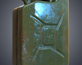 Fuel canister 3D model