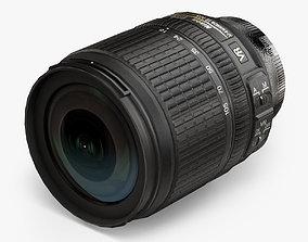 Nikon AF-S DX Nikkor 18-105mm f 3-5 5-6G ED VR 3D model