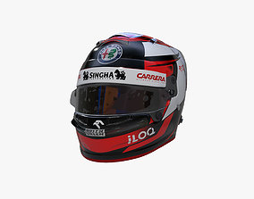 Raikkonen helmet 2020 3D model