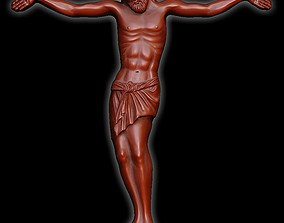 3D printable model god Jesus 3 crucifixion