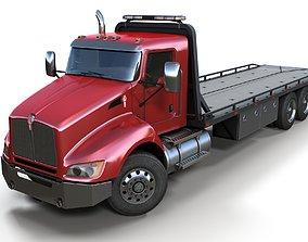 3D model Kenworth t440 tow truck