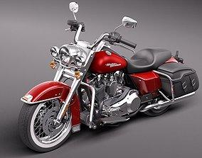 Harley Davidson Road King Classic 2011 3D Model