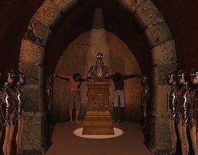 Mithraeum Votive Altar 3D model