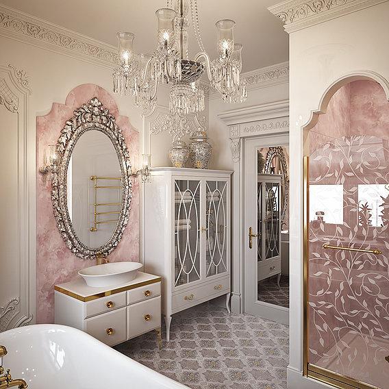 Women's classic bathroom