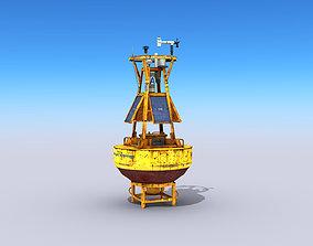 Meteorological Buoy 3D asset