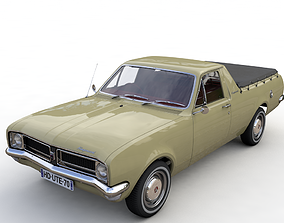 3D model HOLDEN HG UTE KINGSWOOD 1970