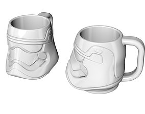 3D print model Mug Stormtrooper Star Wars