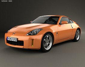 3D model Nissan 350Z 2007