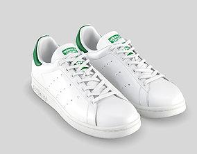 adidas stan smith green 3D