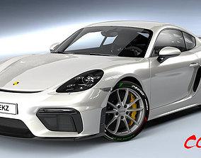 3D model cayman Porsche Cayman GT4 2020