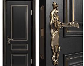 3D model Doors Academy line Leon 4 doors part 1