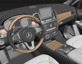 3D model Mercedes - Benz GLS Interior