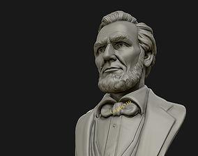 history Abraham Lincoln 3D sculpture