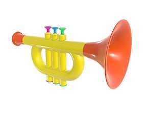 3D Trumpet toy 2
