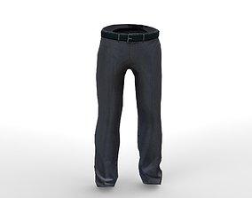 Trouser 3D asset game-ready