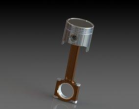 3D model Custom Piston Design