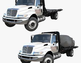 3D asset International Durastar tow truck