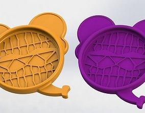 Elephant Coaster 3D print model