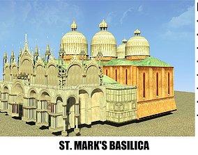 ST MARKS BASILICA 3D model