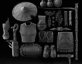 3D model Chinese unloading