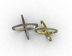Diamond Ring 3D print model 3D print model 3D print model