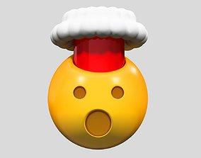 valentin 3D Emoji Exploding Head