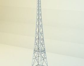 Radio Tower 3D asset