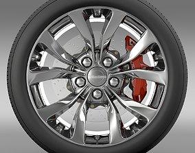 Chrysler 300 Limited 2015 wheel 3D