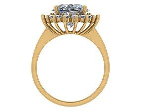 golden Golden Ring 3D model