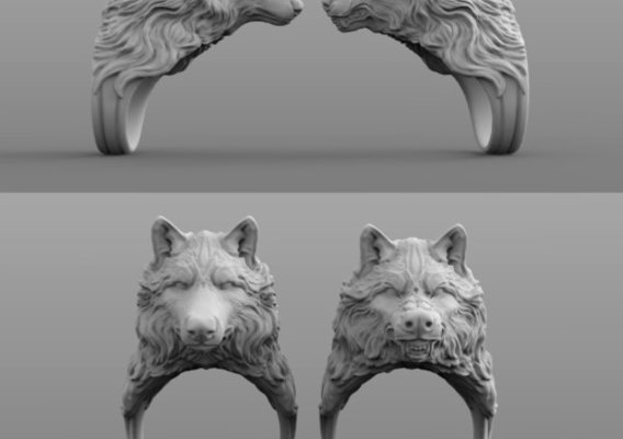 Wolf Ring collection
