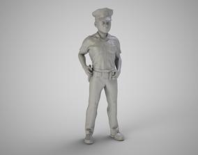 Police 3D printable model