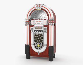 antique 3D model Jukebox
