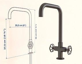 Ikea GAMLESJON Dual-control kitchen mixer tap faucet 3D